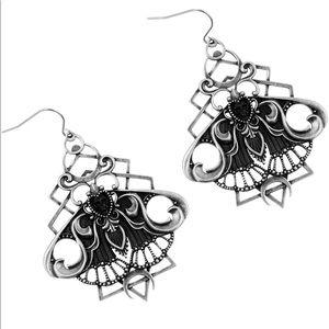 Killstar Nightfly dangle earrings